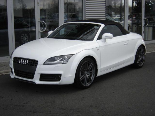 audi tt roadster s line 2 0 tfsi blanc voitures. Black Bedroom Furniture Sets. Home Design Ideas