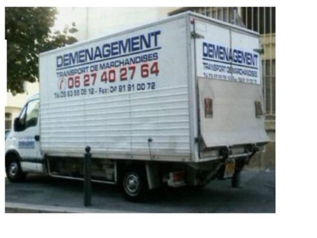 camion 20m3 10m3 avec chauffeur pour demenagement services emploi services marseille 13000. Black Bedroom Furniture Sets. Home Design Ideas
