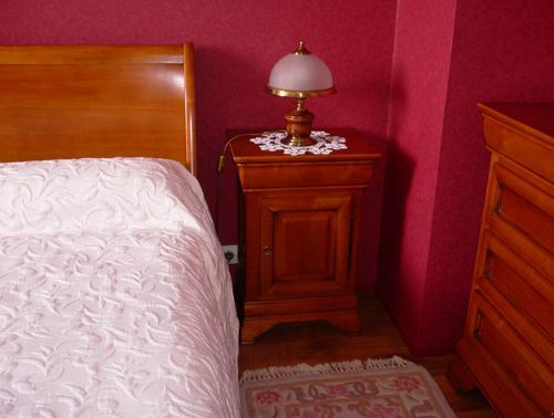 Chambre coucher en merisier massif style louis philippe - Chambre a coucher merisier ...