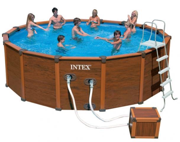 piscines aqua spas intex sequoi spirit bricolage jardinage maison saint jean d 39 ass 72380. Black Bedroom Furniture Sets. Home Design Ideas