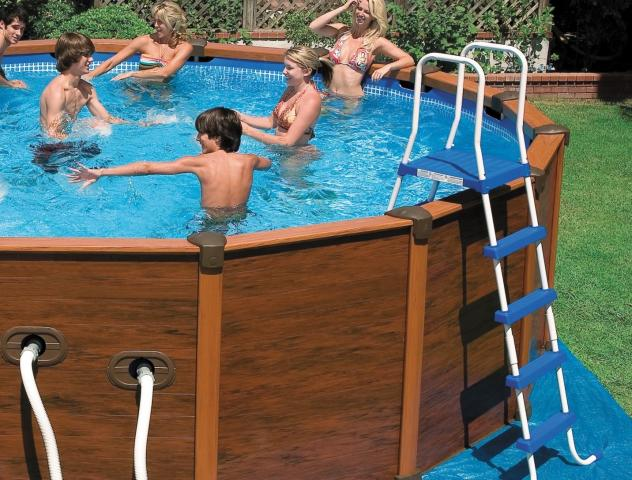 piscine intex s quoia spirit aqua spas 5m08 x 1m08. Black Bedroom Furniture Sets. Home Design Ideas