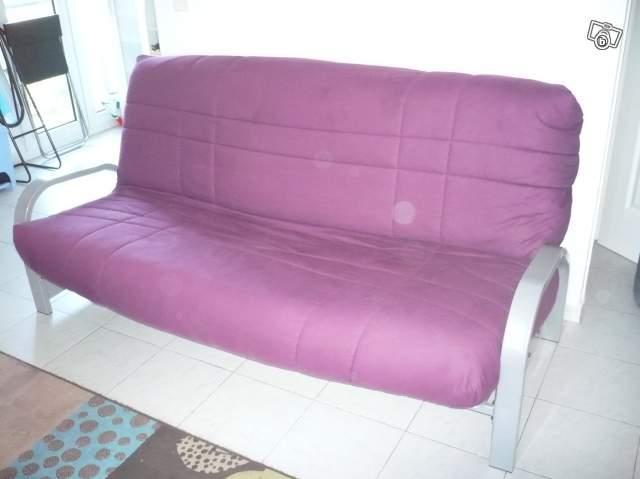 Clic clac but violet ameublement maison aix en provence 13540 annonce - Housse clic clac violet ...
