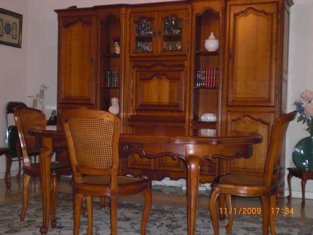 ensemble living merisier louis xv , Ameublement, Maison, Bron (69500 ...