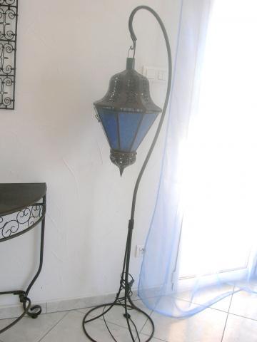 Lampe marocaine sur pied