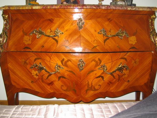 Commode marqueterie en bois de rose ameublement maison cagnes sur mer 068 - Commode en bois de rose ...