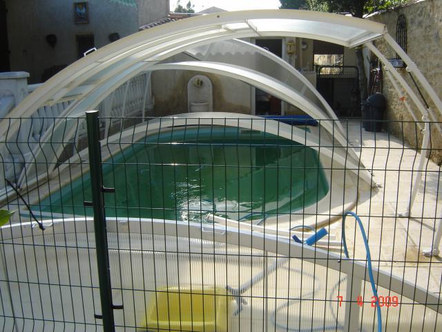 Abri de piscine abrisud bricolage jardinage maison for Verin abri piscine
