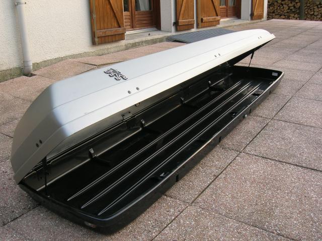 coffre de toit peugeot 370l equipement auto moto. Black Bedroom Furniture Sets. Home Design Ideas