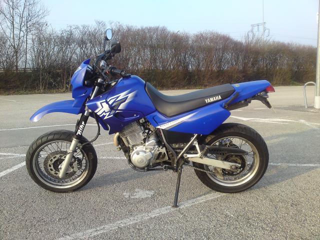 magnifique yamaha 600 xte supermotard  motos  v u00e9hicules
