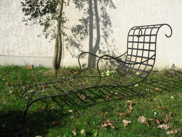 transat en fer forgé, Bricolage / Jardinage, Maison, Samois-sur ...