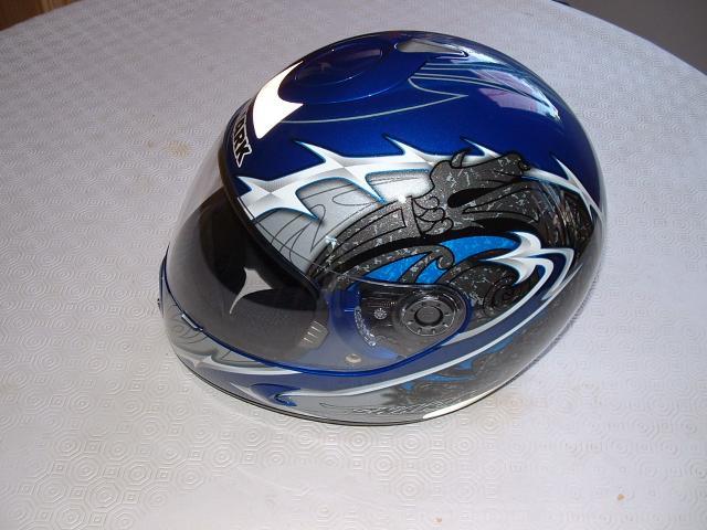 casque moto neuf shark s800 blade taille xs bleu equipement auto moto v hicules bresles. Black Bedroom Furniture Sets. Home Design Ideas