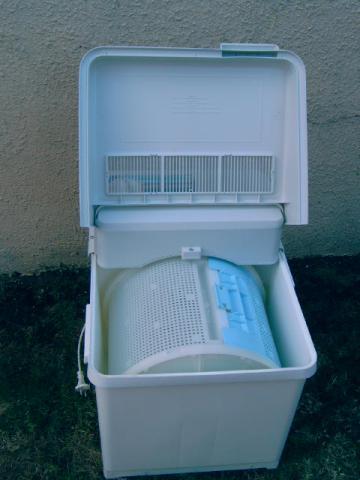 machine a laver sechante de camping 2 kg de linge. Black Bedroom Furniture Sets. Home Design Ideas