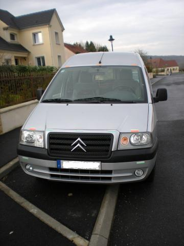 citroen jumpy combi confort 5 places 2 0 hdi utilitaires v hicules ch teau thierry 02400