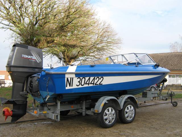 bateau fletcher moteur 140 cv de 2003  nautisme  v u00e9hicules