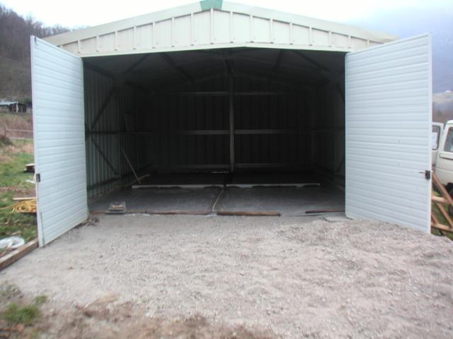 Hangar garage d montable ventes immobili res immobilier for Garage a acheter