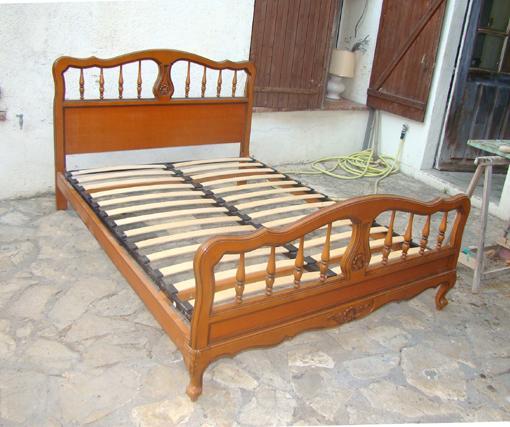 lit 2 places sommier lattes ameublement maison marseille 13000 annonce gratuite ameublement. Black Bedroom Furniture Sets. Home Design Ideas