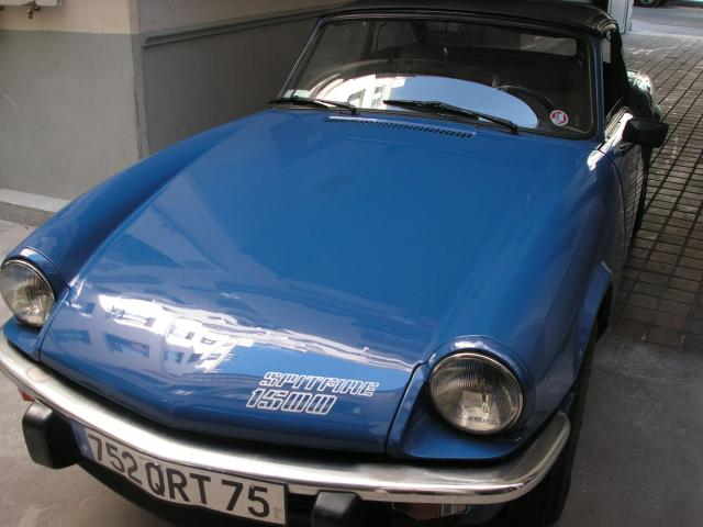triumph spitfire 1500 voitures v hicules paris 75000 annonce gratuite voitures. Black Bedroom Furniture Sets. Home Design Ideas