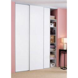 Trois portes pour placard coulissant ameublement maison - Plan placard coulissant ...