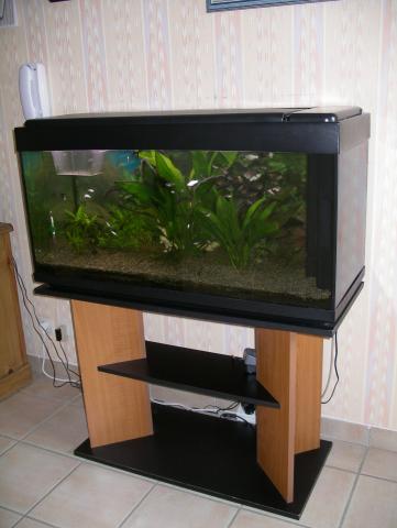 Aquarium 200 l meuble animaux loisirs fleurie 69820 - Meuble tv aquarium ...