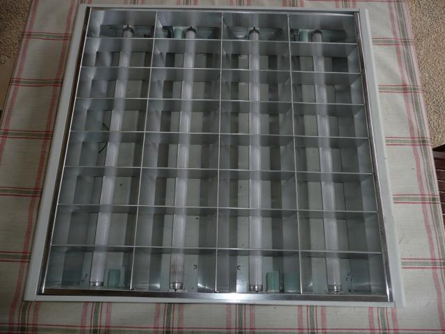 16 luminaires de plafond 60x60cm 4 n ons bricolage jardinage maison p rigueux 24660. Black Bedroom Furniture Sets. Home Design Ideas