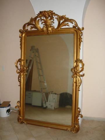 Miroir ancien d coration maison ajaccio 20000 for Prix miroir ancien
