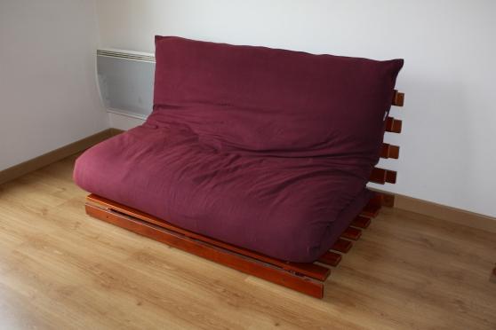 banquette lit bz futon. Black Bedroom Furniture Sets. Home Design Ideas