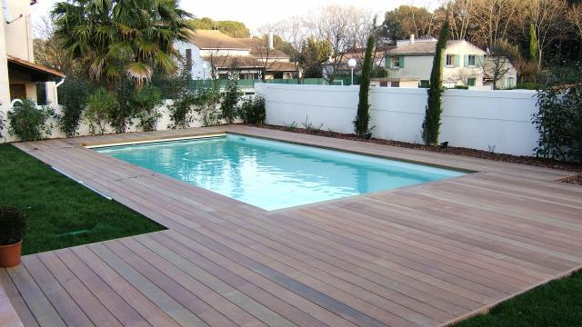 Piscine bois rectangulaire en kit bricolage jardinage for Piscine en kit rectangulaire