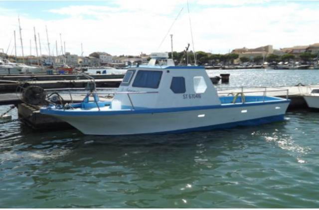 bateau de peche professionnel d'occasion avec pme