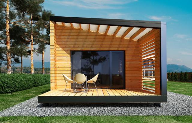 Chalets en bois studios design e k de 45m2 ventes immobili res immobilier pau 64000 for Devis electromenager pau